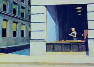 Edward Hopper Bureau de New York 1962 Tampa Museum Home Décor peint à la main HD Imprimer Peinture à l'huile sur toile Wall Art Toile Photos 200218