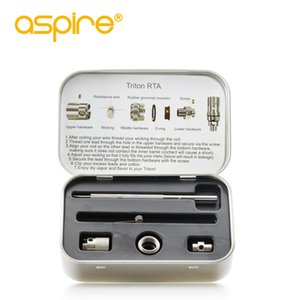 Aspire Odyssey Kit d'origine Accessoires de charge Dock RTA Triton Pyrex manches évidé manches Fit avec Pegasus MOD Triton réservoir