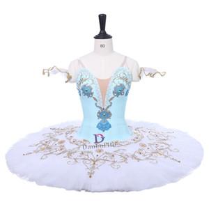 AP140 Licht-freies Verschiffen Mädchen blau Schwanensee Ballett-Tutu, rosa professonal Ballett-Tutu für den Wettbewerb, Ballettkostüme für Mädchen