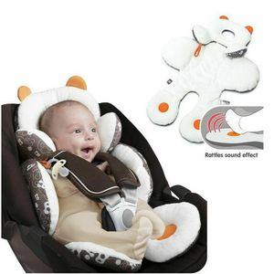 Recém-nascido Infantil Crianças Meninas Meninos Total Cabeça e Suporte Carrinho de Bebê Infantil Carrinho de Bebê Almofada de Assento Macio e Seguro 1 Pcs