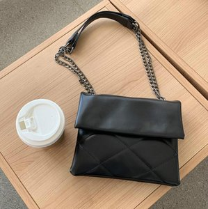 Designer Bag Women's New Fashion Net Red Fashion Handbag Purses Hot Versatile Black Diamond Chain Single Shoulder Messenger Bag