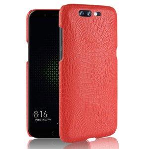 Crocodile De Luxe Matte Protection Case Pour Xiaomi Helo Black Shark Couverture de téléphone Dur PC Ultra mince Mince Shell Capas