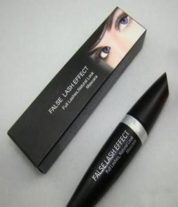 Envío gratis Enviar DHL Makeup Mascara Falso Pajas Efecto pestañas completas Mascara natural Negro