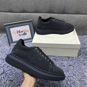 Veludo Designer Shoes 2019 Inverno Chaussures Homens Mulheres Platform Designers Sneakers Caixa Incluído sapatos ao ar livre Black Friday melhor presente
