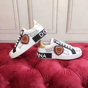 Dolce & Gabbana D&G 2020o lüks ısmarlama erkek ve kadın grafiti el boyaması gündelik spor ayakkabıları, şık ve kişilik parti ayakkabı yönlü, boyut: bn01