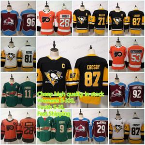 여성 / 청소년 재고 있음 87 Sidney Crosby 71 Evgeni Malkin 28 Claude Giroux 53 Gostisbehere 96 Mikko Rantanen 29 MacKinnon 9 Koivu 11 Parise