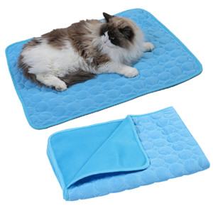 패드 애완 동물 하우스 사육 매트 소파 통기성 애완 동물 침대 매트 여름 패드 매트 BH3599 TQQ 냉각 도매 여름 애완 동물 쿨 매트 작은 고양이