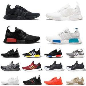 Adidas nmd R1 Scarpe firmate R1 triple bianche nere da uomo scarpe da corsa Og Classic Beige Oreo camo mens scarpe da ginnastica sportive da donna US 5.5-11