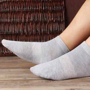 Moda primavera-estate Mens barca calzini donne degli uomini di alta qualità dei calzini da uomo di sport di pallacanestro calzino adolescente nero calzini Unica