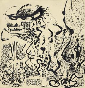 Jackson Pollock Número 5 Decoración Artesanías / impresión de HD pintura al óleo sobre lienzo arte de la pared de la lona representa 200207