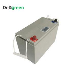 Elektrik için 12V 100Ah LiFePO4 Pil paketi Lityum Li-ion Led ekranlı EV UPS Güneş Enerjisi Depolama pilleri Bisikletler