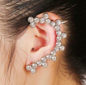Livraison Gratuite Mixte 20pcs Personnalité féminine alliage Diamants cristal Boucles D'oreille clips d'oreilles oreille broches Party Dance Lolita Crâne Bijoux punk 95