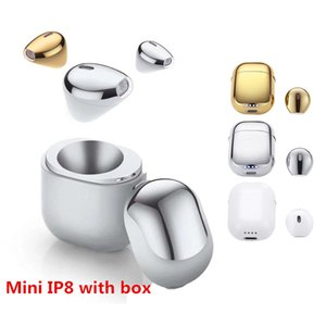New Mini IP8 Wireless Earphone with Charge Box Charger Case Bluetooth for Iphone 6 7 IOS air Xiaomi pods