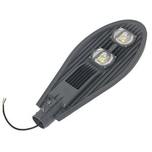 Уличное освещение COB Светодиодный уличный светильник Светодиодный уличный фонарь IP65 50 Вт 100 Вт 150 Вт AC85V-265V 50 Гц / 60 Гц алюминиевая решетка стиль для площади дорожного сада