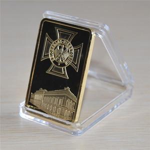 1 Oz 24k Gold German IRON CROSS BAR Deutsche Reichsbank COIN 999 1000 barra di lingotti d'aquila