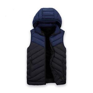 Jogger B101010L Running Logo Kış Autunm Casual Sports ile Kollu Pamuk Ceket olmadan Marka Erkek Kalın Yelek Tasarımcı Dış Giyim Palto
