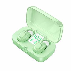 Беспроводные наушники Bluetooth V5. 0 Mini Touch Control Earbuds In-Ear Headset электрическое количество со светодиодным цифровым дисплеем 5 цветов