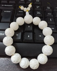 Natural Tridacna lotus beads bracelets deliver free of charge V4