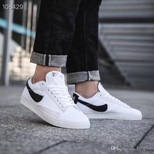 2019 W Blazer Faible Sneaker Designer Haute Qualité Hommes Femmes Jaune Blanc Noir Pioneer Casual Bas-Top Chaussures Taille 36-44 lzfsport