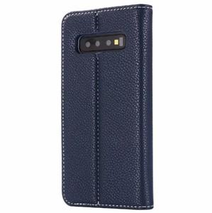 Custodia Flip Cover per Samsung Galaxy S10 E Cover Custodia in pelle genuina sottile colorata originale per Samsung Galaxy S10 Lite