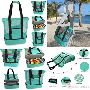 Outdoor Picnic Bag 4 Colors Beach Camping Multi-function Large Capacity Lunch Bags Portable Outdoor Travel Bag DA263