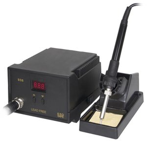 Hot Electric Iron Soldering Station SMD Welders Welding with Stand Sponge ESD Anti-static D6