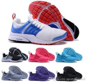 New PRESTO BR QS Breathe Yellow Black White Men Women Running Shoes Cheap Presto Ultra Jogging Walking Trainers Sport Sneakers 36-45