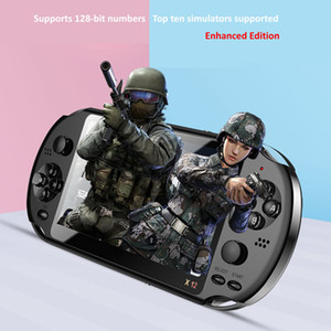 X12 Game Console,PocketGo,Video Game Console Retro Handheld, 2.4inch screen portable children game players with memory card