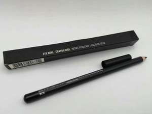 ¡envío gratis! Nuevo llega alineador de ojos de alta calidad Ojo de lápiz Kohl negro con caja (10pcs / lot)