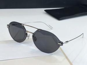 роскошь - цветность Палладиум/серый солнцезащитные очки Sonnenbrille occhiali-да-единственным солнцезащитные очки дизайнер старинные очки унисекс новый ящик с
