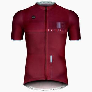 Pro Cycling Jersey d'été de l'équipe Hommes manches courtes Quick Dry VTT Cyclisme Chemises Vélo Jeresy Vêtements Vélo