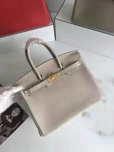 2019 Hermes birkin Luxury togo pelle borse vintage donne borse di marca del progettista 25 / 30cm / 35 centimetri / 40cm borse decorativo birkin Genuine Leather Bag should bags