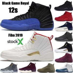 Nouvelle arrivée Jumpman 12 12s FIBA CNY WNTR Hommes Chaussures de basket-ball arrière Taxi Jeu Royal Blue Gym Red Wings gris baskets concepteur sport