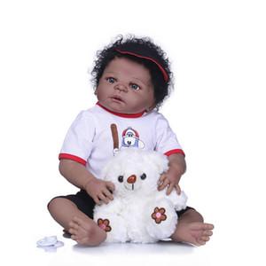 NPK Bebes Reborn Muñecas Realista Full Silicone Bebé Muñeca en estilo Lindo Pelo Reborn Baby Dolls Muñecas Niñas Juegos Juguetes