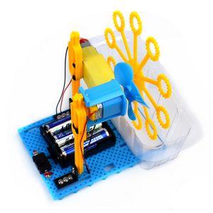 I bambini educativo di DIY automatico Bubble Machine Science Experiment Kit