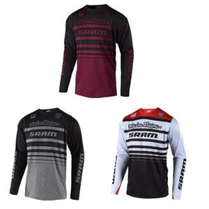 TLD de secagem rápida T-shirt transpiração umidade Ciclismo Ciclismo Jersey Verão ao ar livre Motocross superior da bicicleta