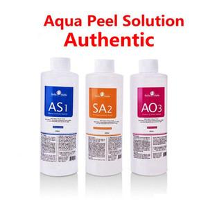 Solution Peeling authentique Aqua 400ml par bouteille Aqua visage Sérum Hydra Sérum visage pour peau normale pour Hydra faciale dermabrasion