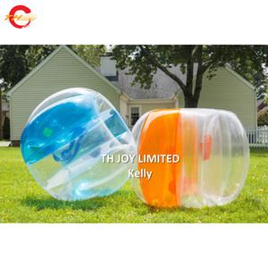 1.2 m 1.5 m de diâmetro colorido bumper bola corpo zorbing bubble ball moda inflável bola de futebol barato inflável bolha de futebol para venda