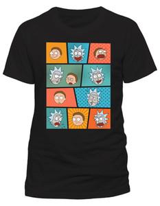 Maglietta Rick Y Morty all'ingrosso Sconto Art Faces Nuevo Y Oficial