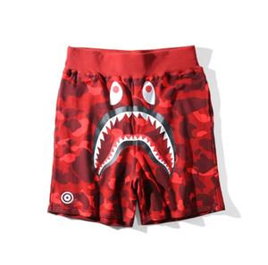 2019 sommer herren sportswear strand kurze hose jogger causel lose crewneck vogel ovo drake schwarz hip hop stusay männer shark mouth kurze hose