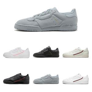 adidas Calabasas Powerphase Grey Continental 80 Zapatos casuales rosa rojo amarillo Núcleo negro blanco gris mujer hombre Outdoor Trainer Sports Sneakers36-45