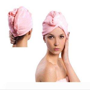 Microfiber Magic Hair Dry Drying Turban Wrap Towel Hat Cap Quick Dry Dryer Bath make up towel 1000pcs lot Free Shipping LXL551-1