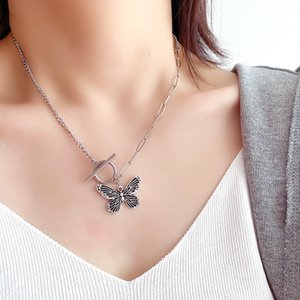 New creative retro butterfly necklace female fashion wild necklace has 7 styles to choose from