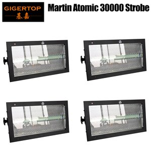 4 unità Martin Atomic 3000 LED della discoteca luci stroboscopiche a LED RGB a colori Strobo fase di DMX Effetto della luce attivato dal suono del proiettore Stroboscope