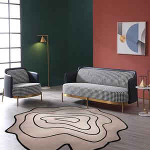 gri renkte Alan Rug şeklinde düzensiz Gizemli Vadisi El yapımı, Post Modern Dekorasyon odası halı yaşayan