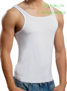 Special Offer NWT Sexy Mens Bamboo Fiber Sleeveless Tank Tops Size L XL
