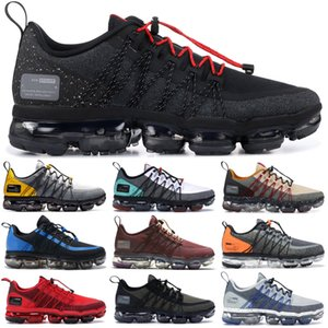 nike vapormax flyknite Top populaire Black Anthractie Run Utility Chaussures de course pour hommes femmes Triple Black White BURGUNDY CRUSH designer formateurs de sport Sneaker