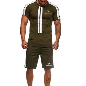 2020 new sport Soccer Sets patchwork men fashion soccer jerseys basketball sets men tide brand suit two pieces sets men suit
