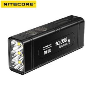NiteCore TM10K 6x Cree XHP35HD 10000lm USB-C avec lampe de poche rechargeable