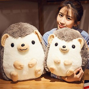 Hedgehog Baby Plush Toys Infant Appease Animal Dolls Children Soft Stuffed Cotton Cartoon Birthday Gifts Y200623